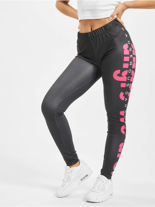 Dangerous DNGRS Leggings/Treggings Weare czarny
