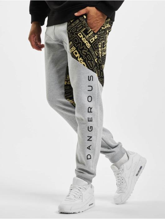Dangerous DNGRS Pantalón deportivo CBrick gris