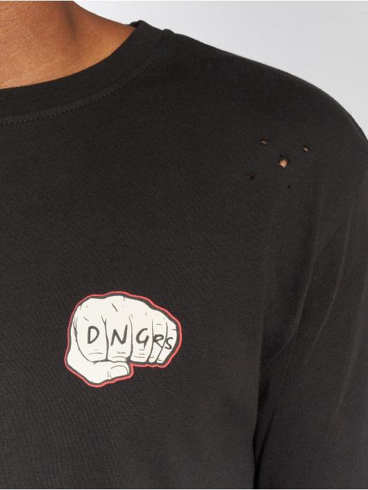 Dangerous DNGRS Pitkähihaiset paidat LosMuertos musta