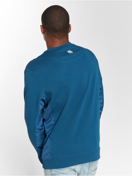 Dangerous DNGRS Pullover DripCity blau