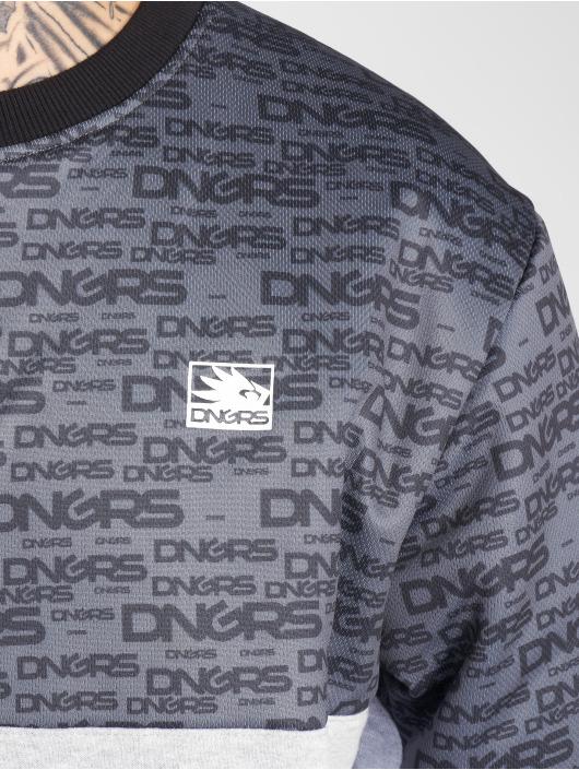 Dangerous DNGRS Pullover Flush grau