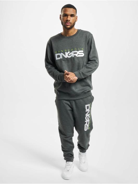 Dangerous DNGRS Pullover Beweare gray