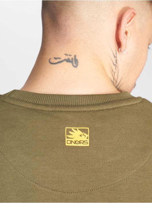 Dangerous DNGRS Pullover Strip olive
