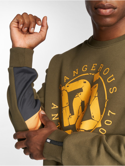 Dangerous DNGRS Pullover DoubleD olive