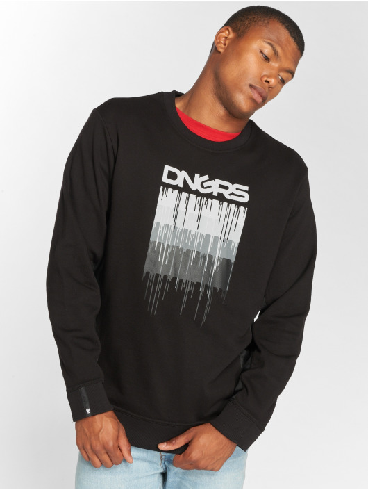 Dangerous DNGRS Pullover DripCity schwarz