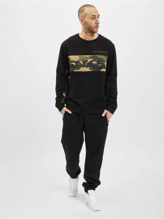 Dangerous DNGRS Pullover Panto schwarz