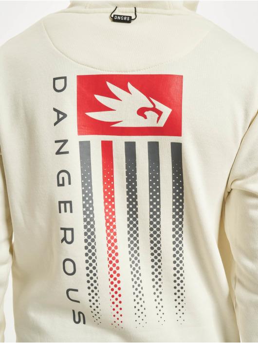Dangerous DNGRS Pullover US Dots weiß