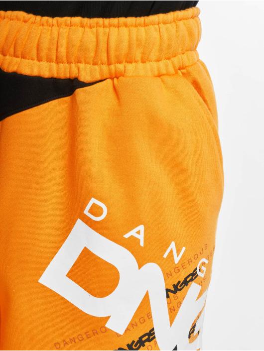 Dangerous DNGRS Shorts Swig gelb