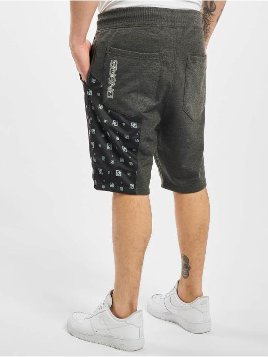 Dangerous DNGRS Shorts Pivot grau