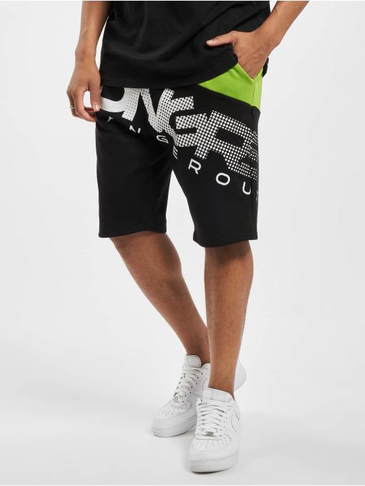 Dangerous DNGRS Shorts Gino nero
