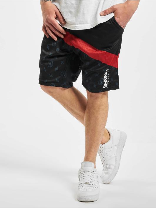 Dangerous DNGRS Shorts Bear schwarz