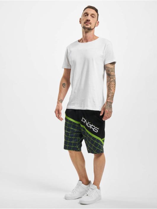 Dangerous DNGRS Shorts Woody schwarz
