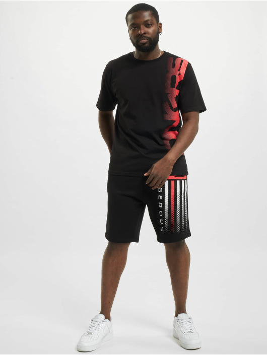 Dangerous DNGRS Shorts US Dots schwarz
