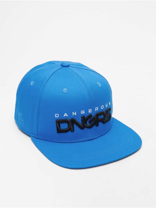 Dangerous DNGRS Snapback Cap Classic blau