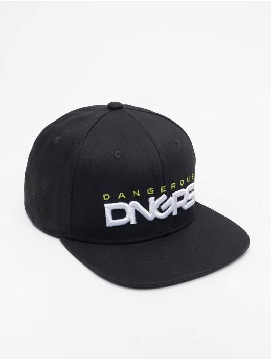Dangerous DNGRS Snapback Cap Classic schwarz