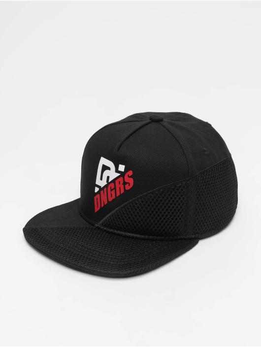 Dangerous DNGRS Snapback Caps Brick czarny