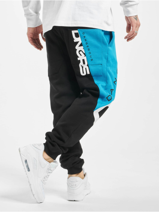 Dangerous DNGRS Spodnie do joggingu Pivot czarny