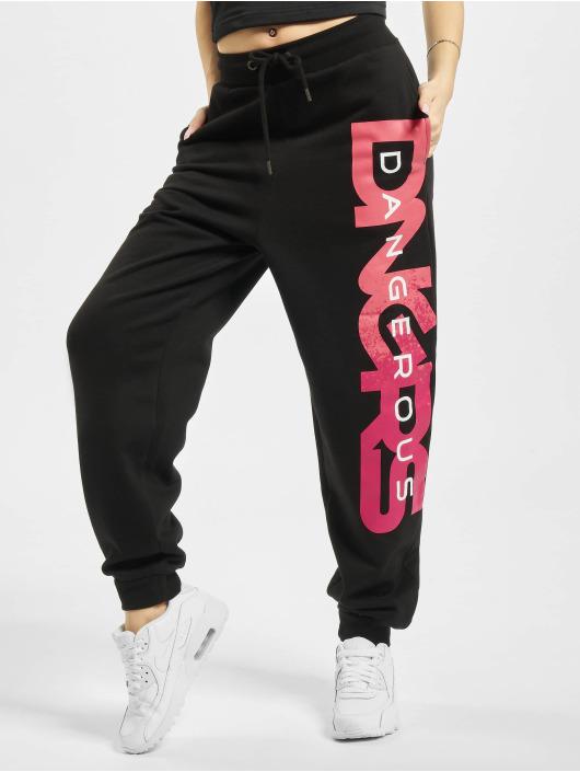 Dangerous DNGRS Spodnie do joggingu Hyena czarny
