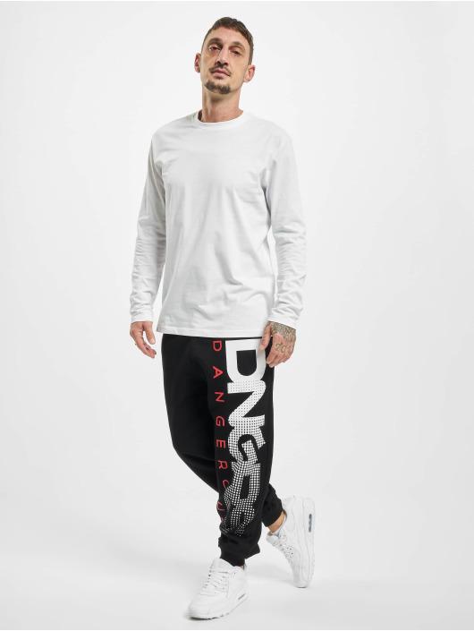Dangerous DNGRS Spodnie do joggingu Gino czarny