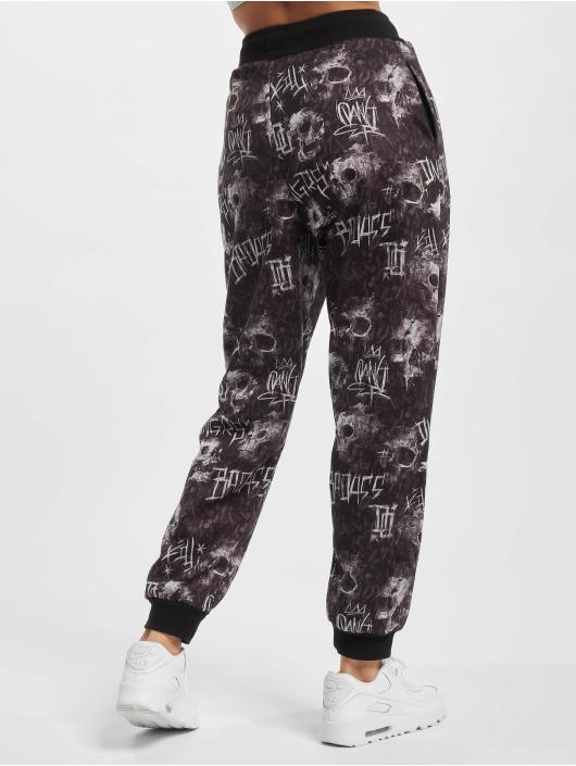 Dangerous DNGRS Spodnie do joggingu Hard Bullet czarny