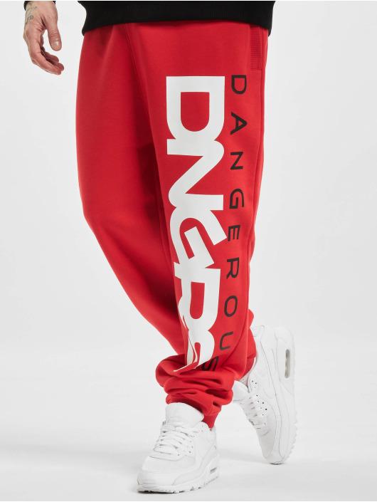 Dangerous DNGRS Spodnie do joggingu Classic czerwony