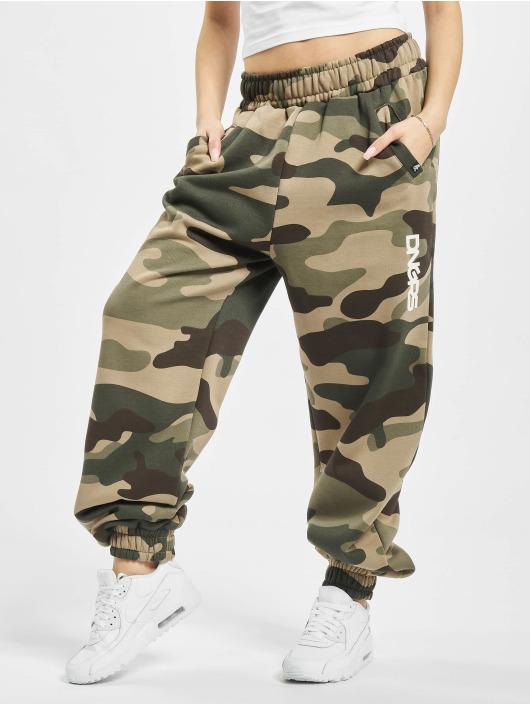 Dangerous DNGRS Spodnie do joggingu Soft Dream Leila Ladys Logo moro