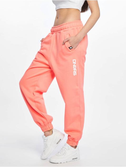 Dangerous DNGRS Spodnie do joggingu Leila pomaranczowy