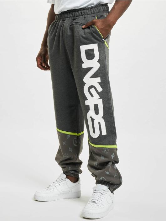 Dangerous DNGRS Spodnie do joggingu Crosshair szary