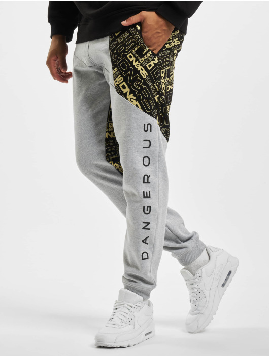 Dangerous DNGRS Spodnie do joggingu CBrick szary