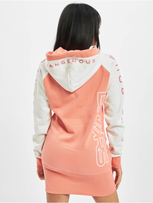 Dangerous DNGRS Sukienki Wintersweat pomaranczowy