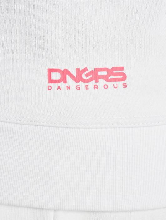 Dangerous DNGRS Sweat capuche Fawn blanc