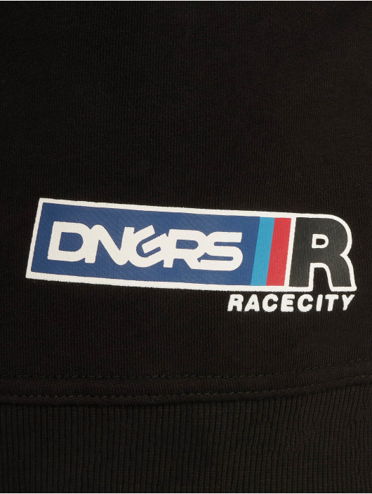 Dangerous DNGRS Sweat capuche Race City MRC noir