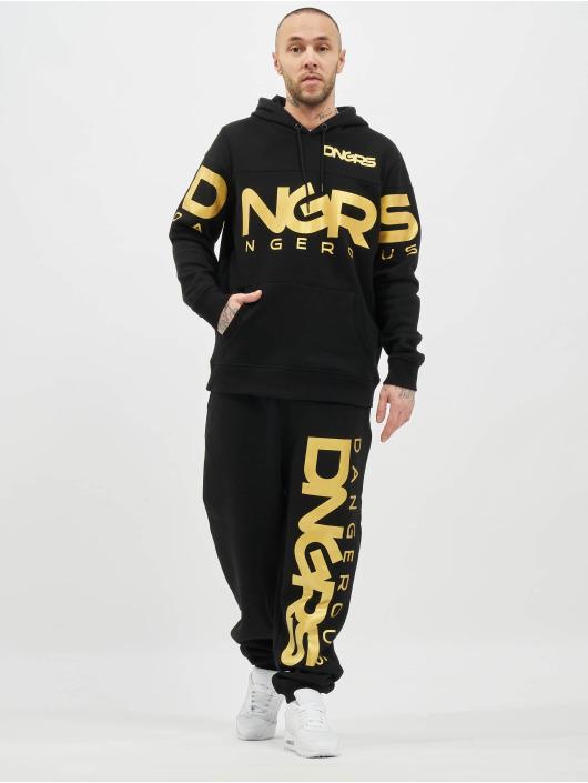 Dangerous DNGRS Sweat capuche Gino noir