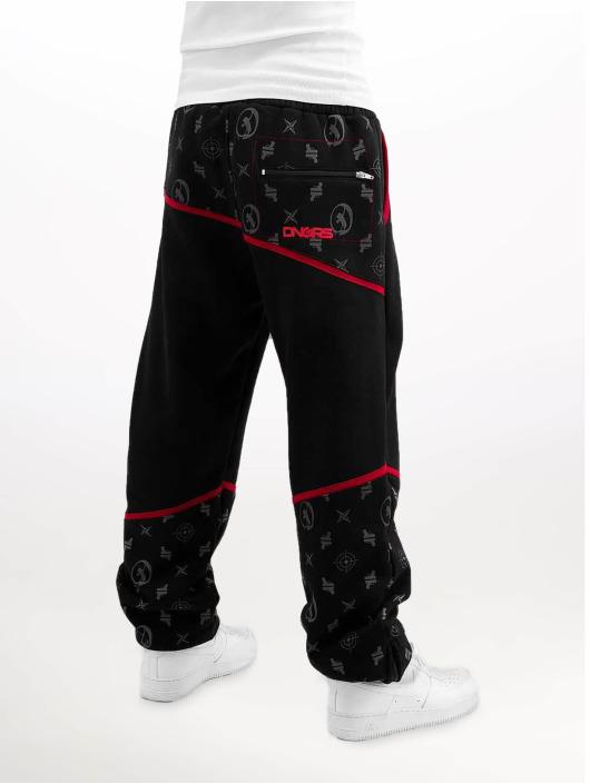 Dangerous DNGRS Sweat Pant Crosshair Baggyfit Sweat Pants black