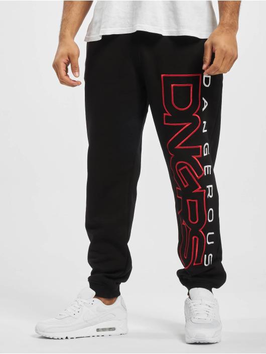 Dangerous DNGRS Sweat Pant Wintersweat black