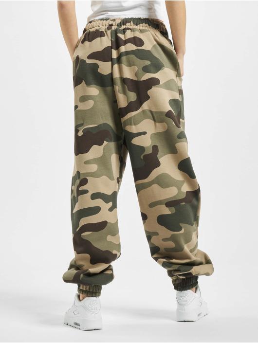 Dangerous DNGRS Sweat Pant Soft Dream Leila Ladys Logo camouflage