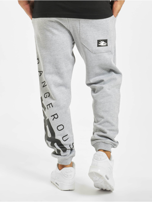Dangerous DNGRS Sweat Pant Edwards grey