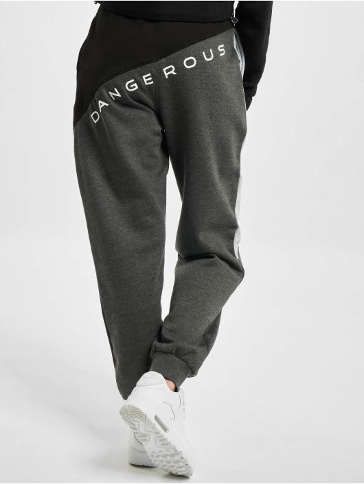 Dangerous DNGRS Sweat Pant Pivot grey