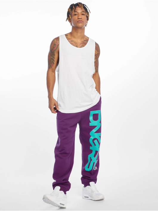 Dangerous DNGRS Sweat Pant Classic purple