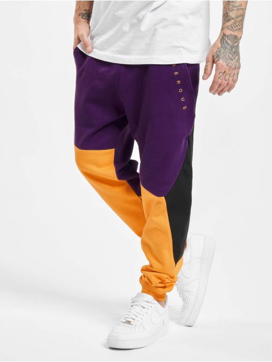 Dangerous DNGRS Sweat Pant Cubix purple