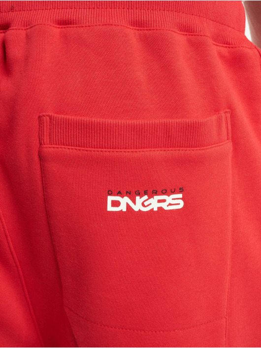 Dangerous DNGRS Sweat Pant Classic red