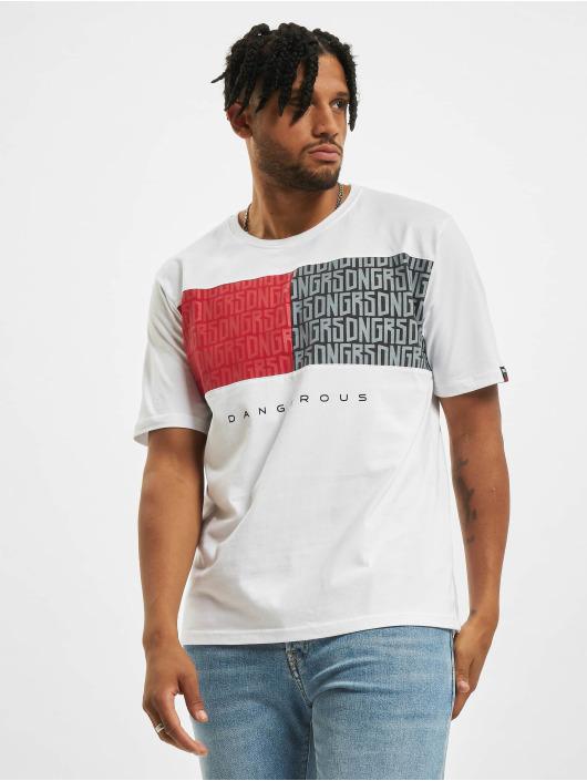 Dangerous DNGRS T-Shirt Twoblck blanc