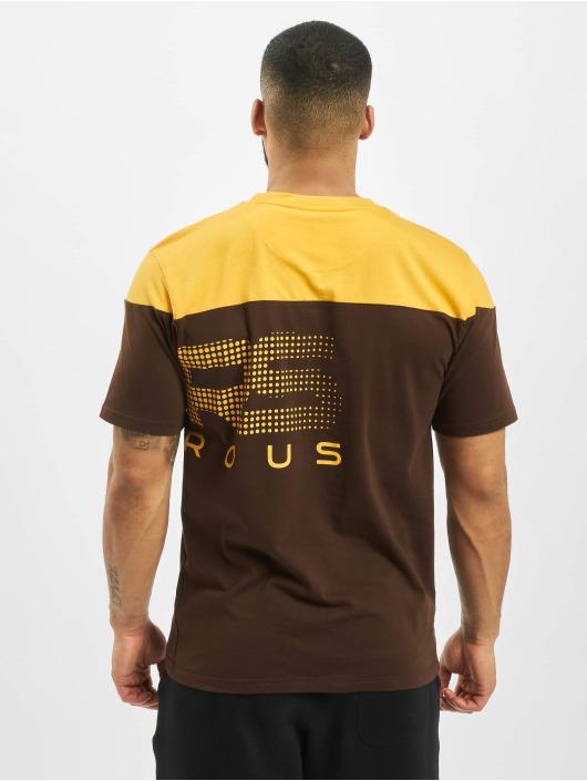 Dangerous DNGRS t-shirt Gino bruin