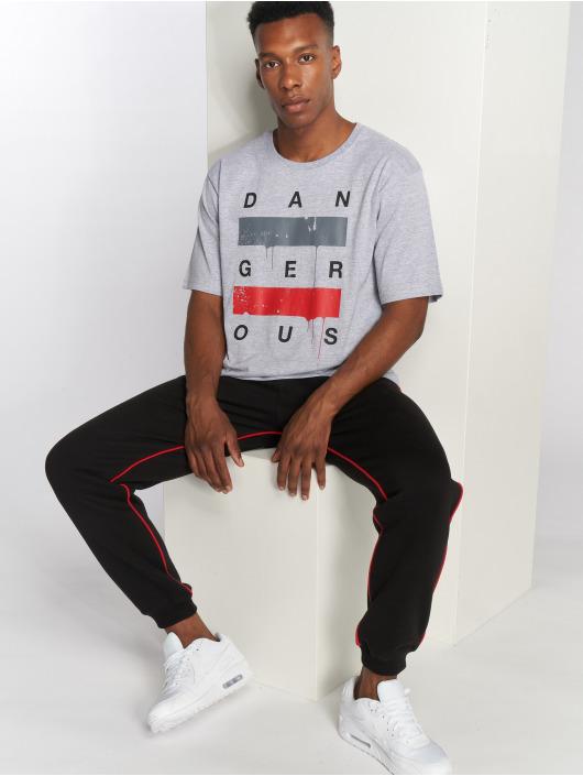Dangerous DNGRS T-Shirt Uncaged grau