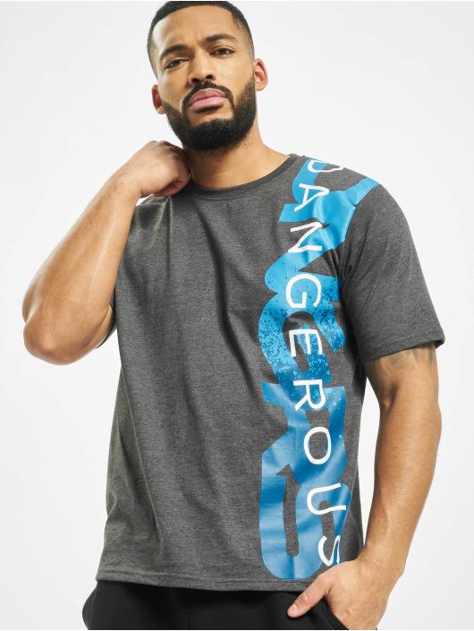 Dangerous DNGRS T-Shirt Hyena grau