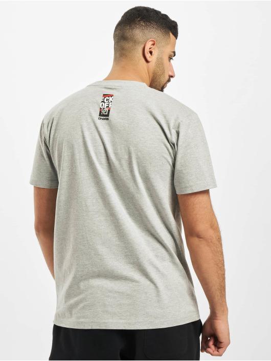 Dangerous DNGRS T-Shirt Fck Off grau