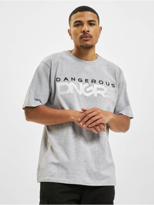 Dangerous DNGRS T-Shirt Beweare grau