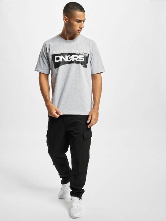 Dangerous DNGRS T-Shirt Luis grau