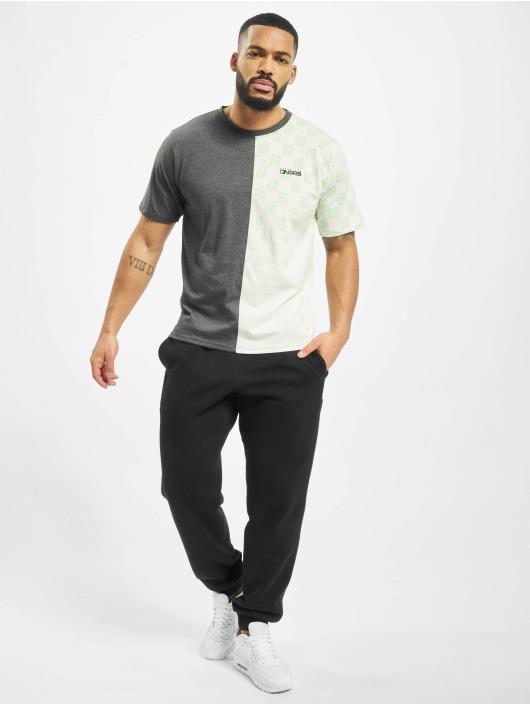 Dangerous DNGRS T-Shirt Two Face grey