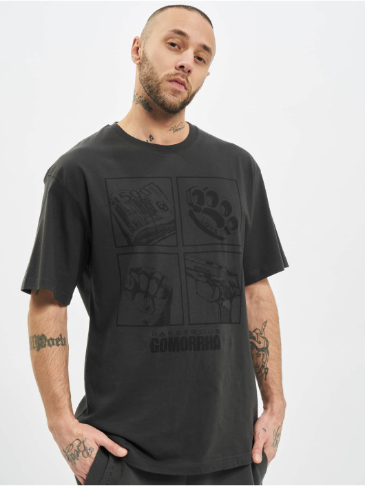 Dangerous DNGRS T-Shirt x Gomorrha gris